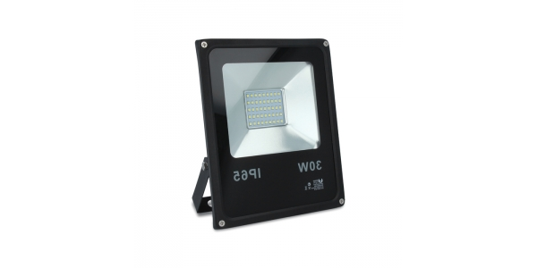 Foco LED Exterior Proyector 30W SMD. Luz Fría