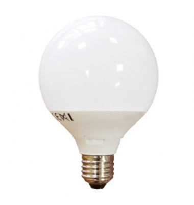 Bombilla LED Globo E27 15W. Luz Cálida
