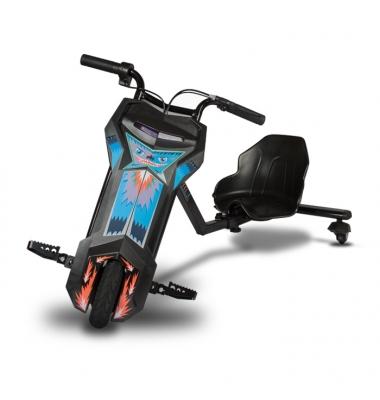 Triciclo Eléctrico 100W. Negro 12 Km/h.