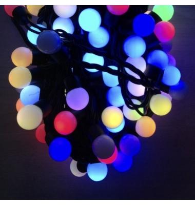 Guirnalda Luminosa 6W . 5 metros. RGB. 50 bolas pequeñas