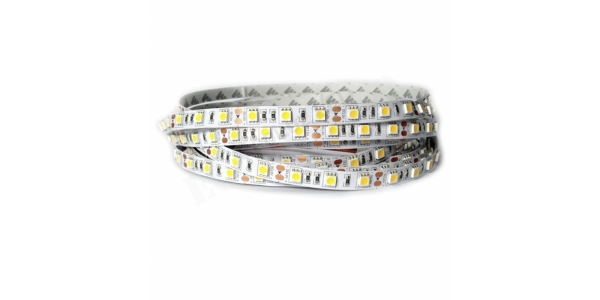 Tira LED 14.4W/m Flexible 5m (60 LEDs/m) Exterior IP65