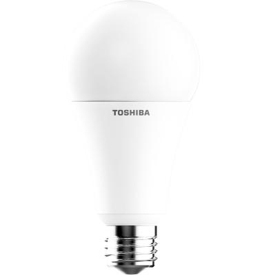 Bombilla LED Toshiba E27 A60 Estándar 16W Regulable. Blanco Natural. 1521 Lm. Ángulo 200º