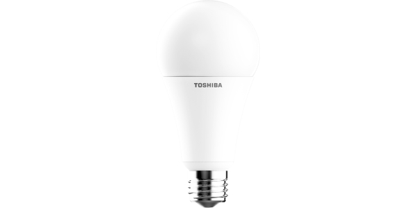 Bombilla LED Toshiba E27 Estándar 15W. Luz Cálida