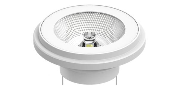 Bombilla LED AR111 Toshiba. 15W-12V. Blanco Cálido. 840 Lm. Ángulo 24º