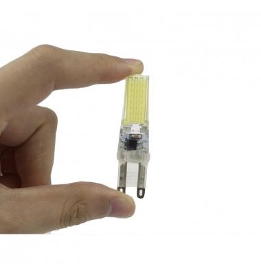 Bombilla LED G9 5W Regulable Ángulo 360º. 500 Lm. Blanco Cálido