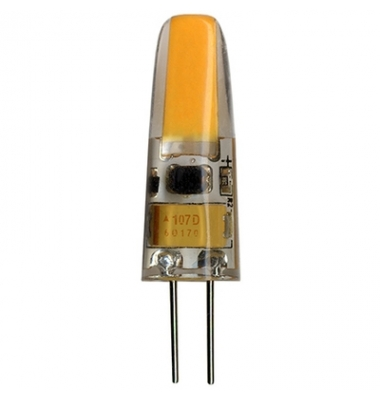 Bombilla LED G4 2W Regulable. 12V. Angulo 360º. 200 Lm. Blanco Natural de 4000k