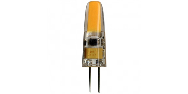 Bombilla LED G4 2W Regulable. 12V. Angulo 360º. 200 Lm. Blanco Natural de 4000k