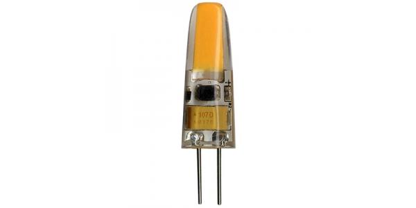 Bombilla LED G4 3W Regulable. 12V. Angulo 360º. 200 Lm. Blanco Natural de 4000k
