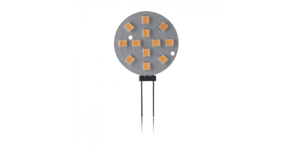Bombilla LED G4 3W SMD2835. 245 Lm. Blanco Cálido de 3000k