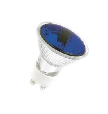 Bombilla LED GU10 1.5W Azul. Ángulo 60º