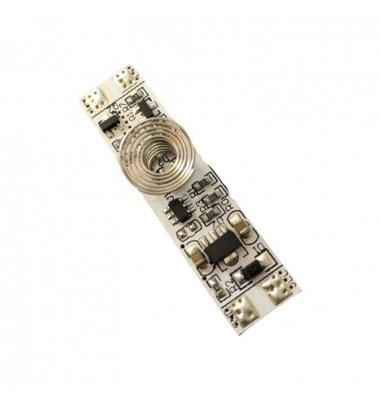 Interruptor-Sensor Movimiento. Para perfiles aluminio LED. 12-24VDC