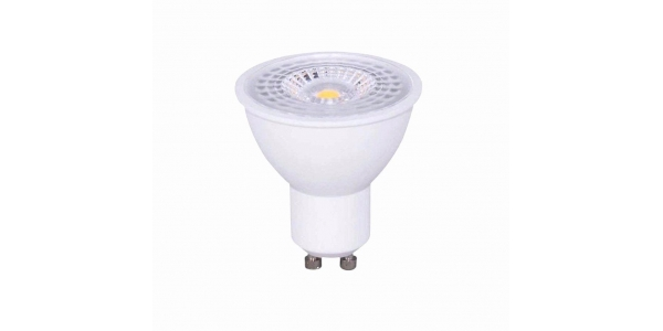 Bombilla LED GU10 8W. Ángulo 120º. Natural