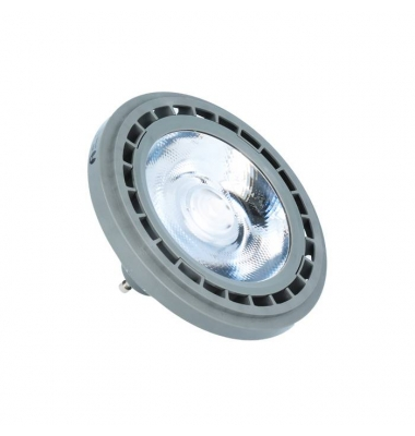 Bombilla LED AR111 10W. 12V. Ángulo 45º