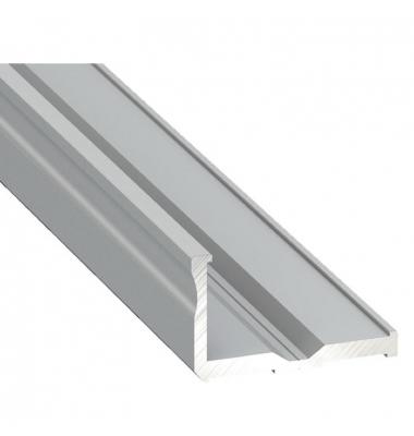 Perfil de Aluminio Side Para Esquinas. Tiras LED 10-12mm. 1 metro