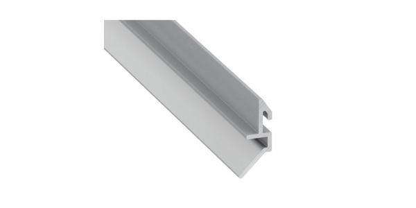 Perfil Soporte de Aluminio Fari. 1 metro. Para perfil Label