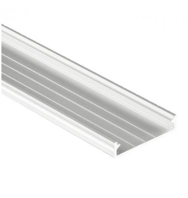 Tapa de Aluminio Modi. 1 metro. Para Perfiles Neu y Label. Plata