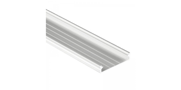 Tapa de Aluminio de 2.02 metris, MODI. Para Perfiles Chic, Neu