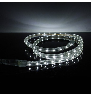 Tira LED 14.4W/m 220VAC. Flexible. 1 metro (60LEDs/m) SMD5050