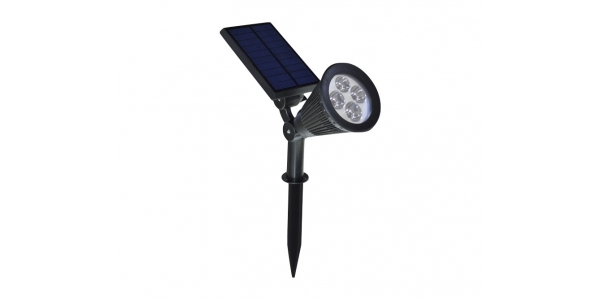 Estaca Solar LED 2W Post. Orientable.