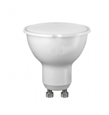 Bombilla LED GU10 5W PVC. 120º. LED Epistar