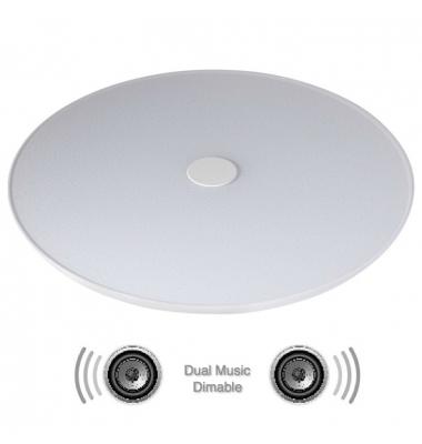 Plafón de Techo LED Cosy. 48W Regulable. Altavoz Bluetooth