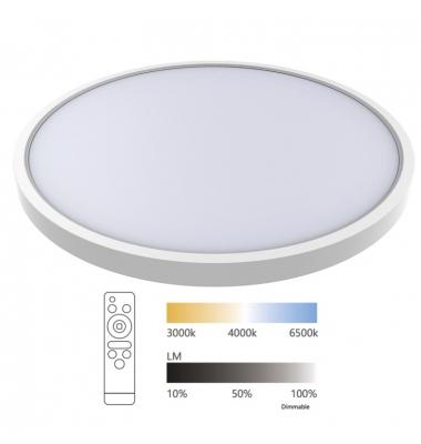 Plafón de Techo LED Ball. 24W Regulable. Factor potencia 0.90