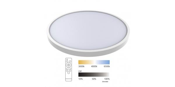 Plafón de Techo LED Ball. 24W Regulable.