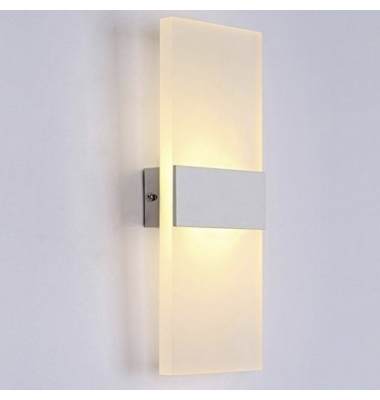 Aplique Pared LED 8W Flat. Para Interior