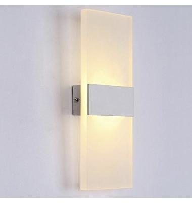 Aplique Pared LED 8W Flat. Para Interior