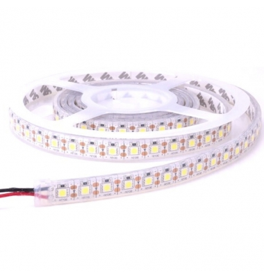 Tira LED 14.4W x mt. 12VDC. Sumergible-IP68. 5 metros. (60 LED x m) SMD5050