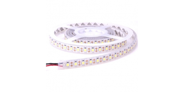Tira RGB 14.4W x mt. 12VDC. Sumergible-IP68. 5mt. (60 LED x m) SMD5050