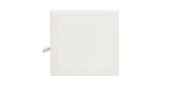 Panel LED Cuadrado Enlazable 3.5W Puzzle. Luz Natural. Marco Blanco