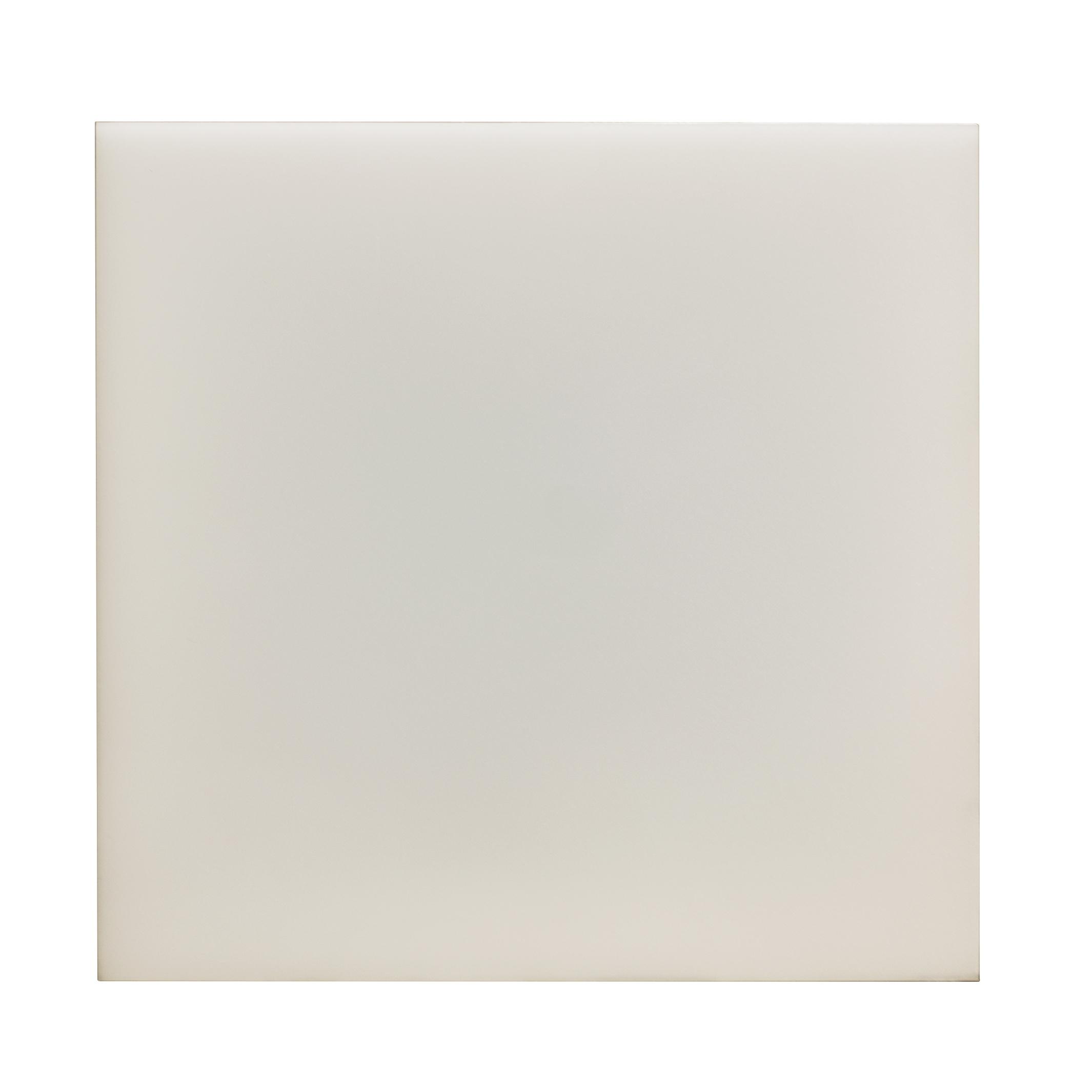 Panel LED Cuadrado Enlazable 9.4W Puzzle. Luz Natural. Marco Blanco