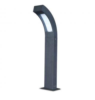 Baliza Suelo Exterior LED Futura 6.4W. Luz Cálida