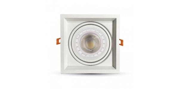 Kit Foco Empotrar LED Interior 10W Traffic. Regulable
