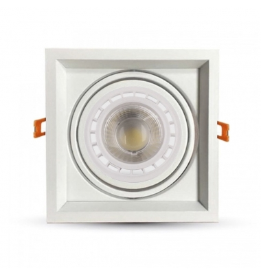 Foco LED Direccionable Traffic 10W. 850 Lm. Ángulo 45º. Blanco Natural