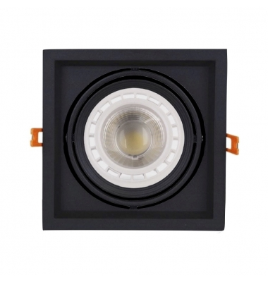 Kit Foco Empotrar LED Interior 10W Traffic. Regulable