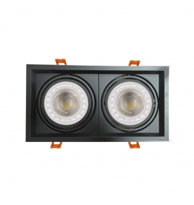 Foco LED Direccionable Traffic 2*10W. 1700 Lm. Ángulo 45º. Blanco Natural