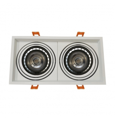 Foco LED Direccionable Traffic 2*15W. 2600 Lm. Ángulo 38º