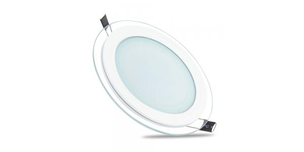 Downlight Panel Cristal LED Redondo 12W