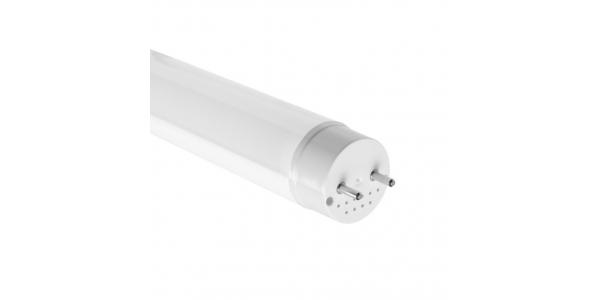 Tubos LED T8 Cristal Epistar 1200 mm 18W-1800 lm. Conexión Un Lateral y 2 Laterales. Blanco Natural. Ángulo 330º