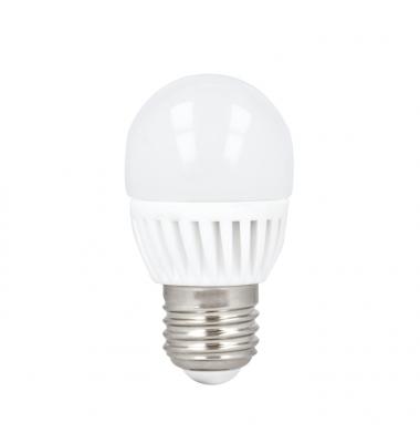 Bombilla LED E27, G45, Esférica, 10W, 4500k, Blanco Natural, Ángulo 180º