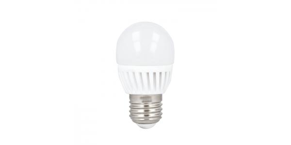 Bombilla E27 Esférica LED 10W. Ángulo 180º 4500K