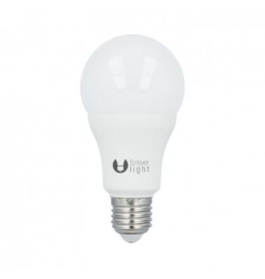 Bombilla LED E27 A60 Estándar 15W. 4500k, Blanco Natural. Ángulo 270º