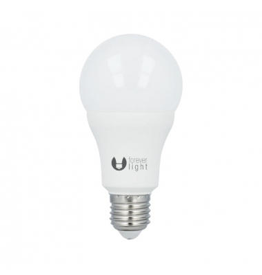 Bombilla LED E27 A60 Estándar 15W. 6000k, Blanco Frío. Ángulo 270º