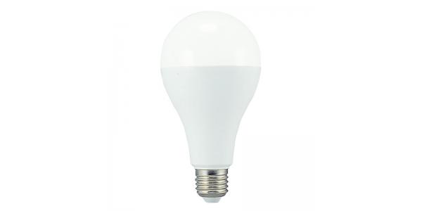 Bombilla LED E27 Estándar 18W. Ángulo 270º. Blanco Cálido