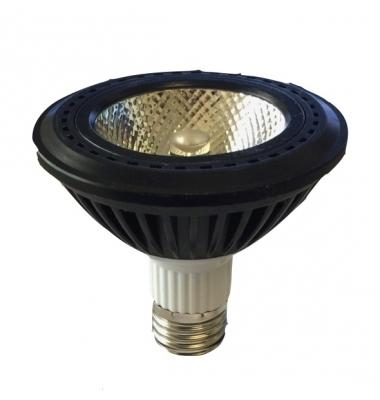 Bombilla LED PAR30 E27 11W. Ángulo 30º. Blanco Cálido