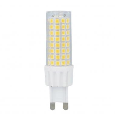 Bombilla LED G9 8W. Ángulo 330º. 700 Lm. Blanco Cálido