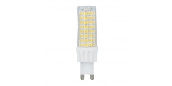 Bombilla LED G9 8W. Ángulo 330º. 700 Lm. Blanco Cálido de 3000k