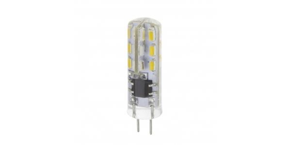 Bombilla LED G4 3.3W. 12V. Angulo 360º. 250 Lm. Blanco Cálido